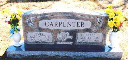 CARPENTER, JEWELL - Carroll County, Arkansas | JEWELL CARPENTER - Arkansas Gravestone Photos