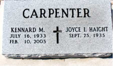 CARPENTER, KENNARD M. - Carroll County, Arkansas | KENNARD M. CARPENTER - Arkansas Gravestone Photos