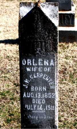 AYERS CARPENTER, ORLENA - Carroll County, Arkansas | ORLENA AYERS CARPENTER - Arkansas Gravestone Photos