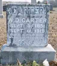 CARTER, WILLIAM DICK - Carroll County, Arkansas | WILLIAM DICK CARTER - Arkansas Gravestone Photos