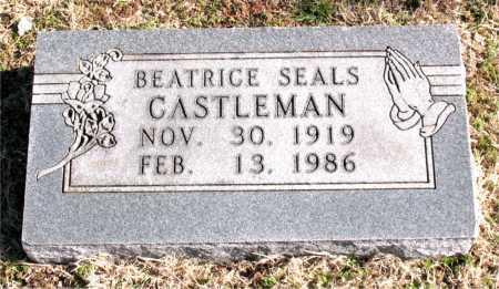 CASTLEMAN, BEATRICE - Carroll County, Arkansas | BEATRICE CASTLEMAN - Arkansas Gravestone Photos