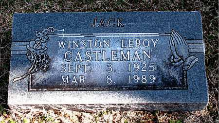 CASTLEMAN, WINSTON LEROY - Carroll County, Arkansas | WINSTON LEROY CASTLEMAN - Arkansas Gravestone Photos