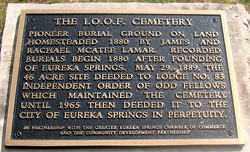 *IOOF CEMETERY SIGN,  - Carroll County, Arkansas |  *IOOF CEMETERY SIGN - Arkansas Gravestone Photos