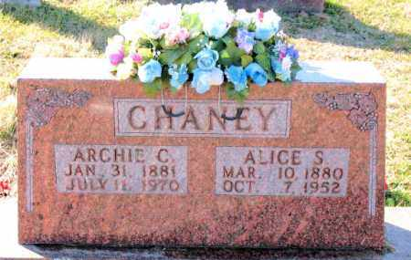 CHANEY, ALICE  S. - Carroll County, Arkansas | ALICE  S. CHANEY - Arkansas Gravestone Photos