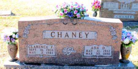 CHANEY, CLARENCE F. - Carroll County, Arkansas   CLARENCE F. CHANEY - Arkansas Gravestone Photos