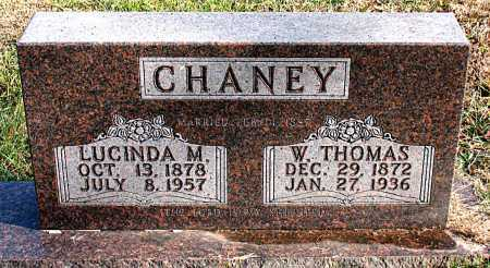 CHANEY, W. THOMAS - Carroll County, Arkansas   W. THOMAS CHANEY - Arkansas Gravestone Photos