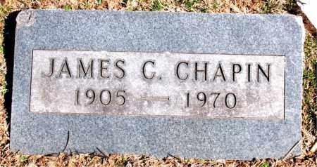 CHAPIN, JAMES C. - Carroll County, Arkansas | JAMES C. CHAPIN - Arkansas Gravestone Photos