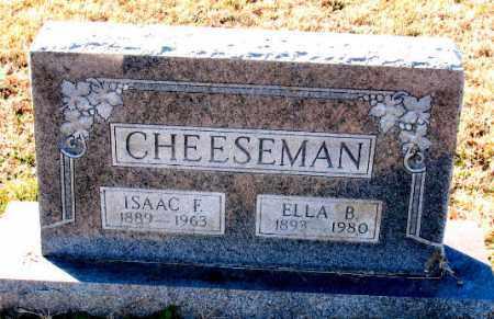 CHEESEMAN, ISAAC  F. - Carroll County, Arkansas   ISAAC  F. CHEESEMAN - Arkansas Gravestone Photos