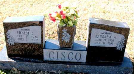 CISCO, ERNEST C. - Carroll County, Arkansas   ERNEST C. CISCO - Arkansas Gravestone Photos