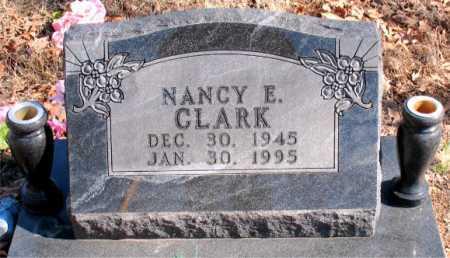 CLARK, NANCY E - Carroll County, Arkansas | NANCY E CLARK - Arkansas Gravestone Photos