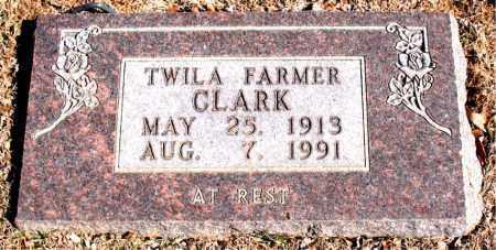FARMER CLARK, TWILA - Carroll County, Arkansas   TWILA FARMER CLARK - Arkansas Gravestone Photos