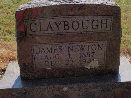 CLAYBOUGH, JAMES NEWTON - Carroll County, Arkansas | JAMES NEWTON CLAYBOUGH - Arkansas Gravestone Photos