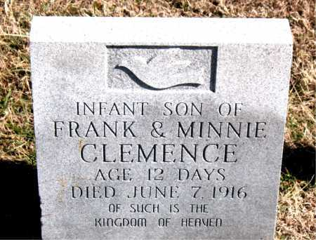 CLEMENCE, INFANT SON - Carroll County, Arkansas | INFANT SON CLEMENCE - Arkansas Gravestone Photos
