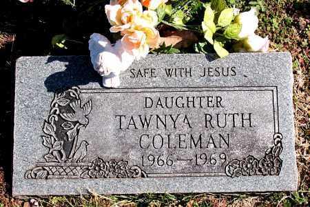 COLEMAN, TAWNYA RUTH - Carroll County, Arkansas | TAWNYA RUTH COLEMAN - Arkansas Gravestone Photos