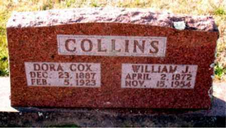 COLLINS, DORA - Carroll County, Arkansas | DORA COLLINS - Arkansas Gravestone Photos