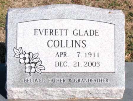 COLLINS, EVERETT GLADE - Carroll County, Arkansas | EVERETT GLADE COLLINS - Arkansas Gravestone Photos