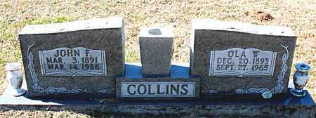 COLLINS, OLA W. - Carroll County, Arkansas   OLA W. COLLINS - Arkansas Gravestone Photos