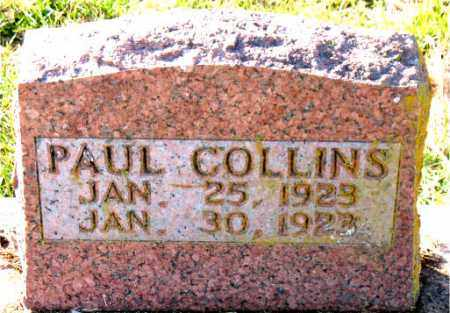 COLLINS, PAUL - Carroll County, Arkansas   PAUL COLLINS - Arkansas Gravestone Photos
