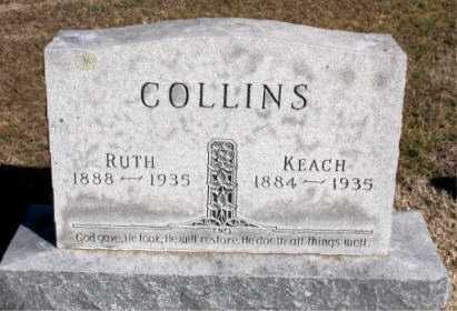 COLLINS, KEACH - Carroll County, Arkansas   KEACH COLLINS - Arkansas Gravestone Photos