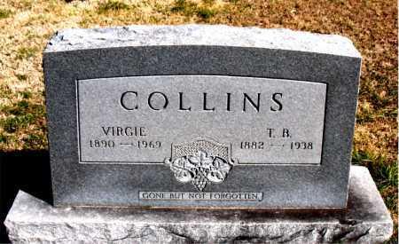 COLLINS, T B - Carroll County, Arkansas   T B COLLINS - Arkansas Gravestone Photos