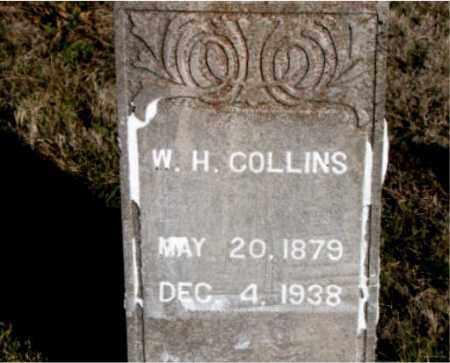 COLLINS, W.  H. - Carroll County, Arkansas | W.  H. COLLINS - Arkansas Gravestone Photos