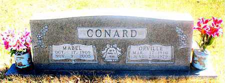 CONARD, ORVILLE - Carroll County, Arkansas | ORVILLE CONARD - Arkansas Gravestone Photos