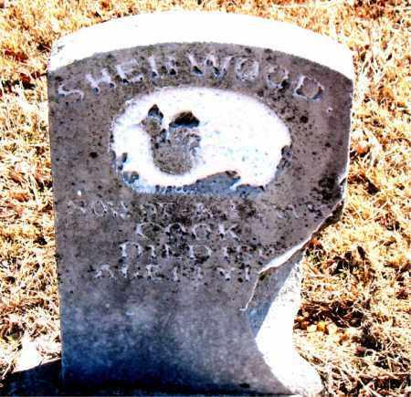 COOK, SHERWOOD - Carroll County, Arkansas   SHERWOOD COOK - Arkansas Gravestone Photos