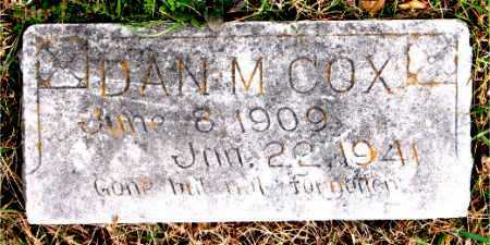 COX, DAN M. - Carroll County, Arkansas | DAN M. COX - Arkansas Gravestone Photos