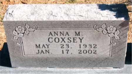 COXSEY, ANNA  M - Carroll County, Arkansas | ANNA  M COXSEY - Arkansas Gravestone Photos