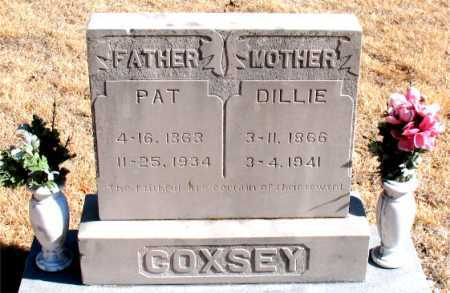 COXSEY, PAT - Carroll County, Arkansas | PAT COXSEY - Arkansas Gravestone Photos