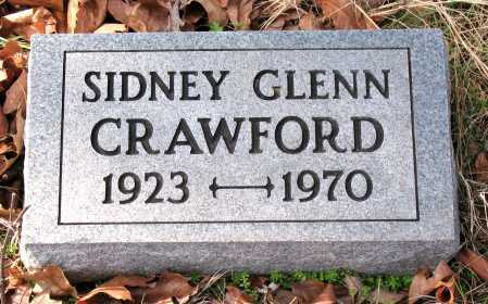 CRAWFORD, SIDNEY GLENN - Carroll County, Arkansas | SIDNEY GLENN CRAWFORD - Arkansas Gravestone Photos