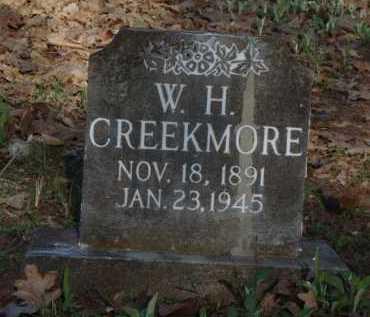 CREEKMORE, W. H. - Carroll County, Arkansas   W. H. CREEKMORE - Arkansas Gravestone Photos