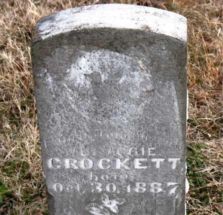 CROCKETT, INFANT DAUGHTER - Carroll County, Arkansas | INFANT DAUGHTER CROCKETT - Arkansas Gravestone Photos