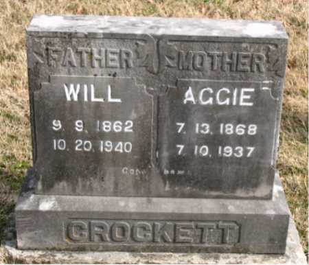 CROCKETT, AGGIE - Carroll County, Arkansas | AGGIE CROCKETT - Arkansas Gravestone Photos