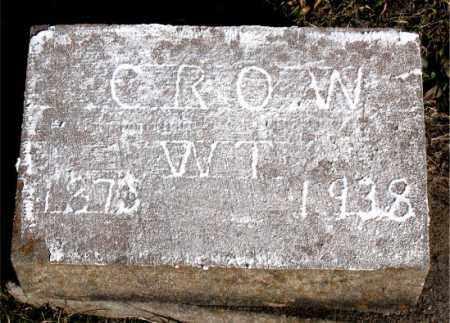 CROW, W.  T. - Carroll County, Arkansas | W.  T. CROW - Arkansas Gravestone Photos