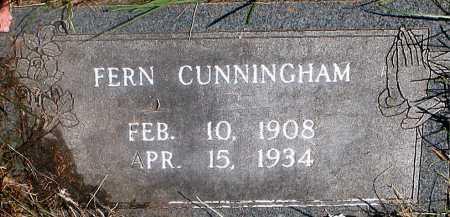 CUNNINGHAM, FERN - Carroll County, Arkansas | FERN CUNNINGHAM - Arkansas Gravestone Photos