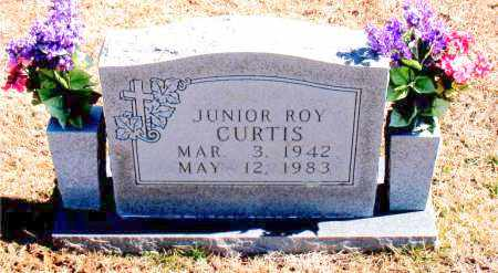 CURTIS, JUNIOR ROY - Carroll County, Arkansas | JUNIOR ROY CURTIS - Arkansas Gravestone Photos