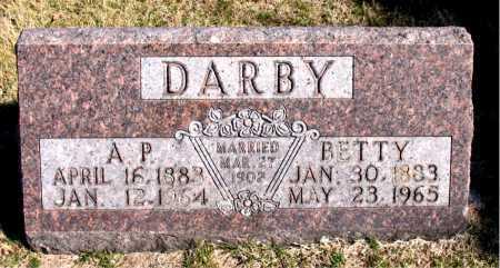 DARBY, BETTY - Carroll County, Arkansas | BETTY DARBY - Arkansas Gravestone Photos
