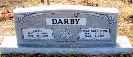 DARBY, CAZIE - Carroll County, Arkansas | CAZIE DARBY - Arkansas Gravestone Photos