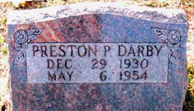 DARBY, PRESTON P - Carroll County, Arkansas | PRESTON P DARBY - Arkansas Gravestone Photos