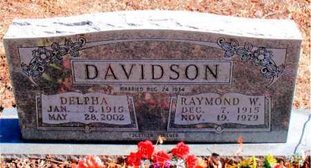 DAVIDSON, DELPHA - Carroll County, Arkansas | DELPHA DAVIDSON - Arkansas Gravestone Photos