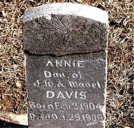 DAVIS, ANNIE - Carroll County, Arkansas   ANNIE DAVIS - Arkansas Gravestone Photos