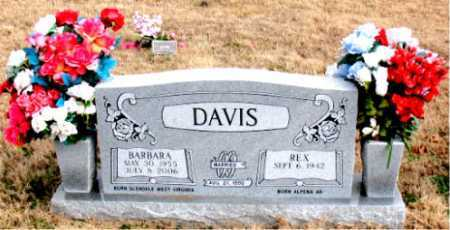 DAVIS, BARBARA - Carroll County, Arkansas | BARBARA DAVIS - Arkansas Gravestone Photos
