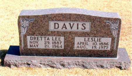 DAVIS, DRETTA LEE - Carroll County, Arkansas | DRETTA LEE DAVIS - Arkansas Gravestone Photos