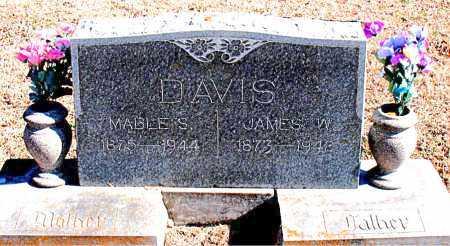 DAVIS, JAMES W. - Carroll County, Arkansas | JAMES W. DAVIS - Arkansas Gravestone Photos