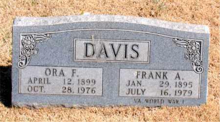 DAVIS, FRANK A. - Carroll County, Arkansas | FRANK A. DAVIS - Arkansas Gravestone Photos