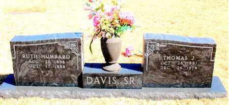 DAVIS, SR., THOMAS J. - Carroll County, Arkansas | THOMAS J. DAVIS, SR. - Arkansas Gravestone Photos