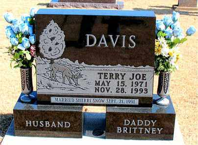 DAVIS, TERRY JOE - Carroll County, Arkansas | TERRY JOE DAVIS - Arkansas Gravestone Photos