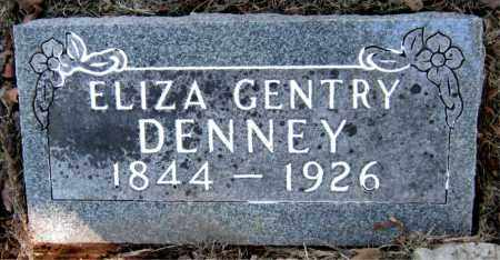 DENNEY, ELIZA - Carroll County, Arkansas | ELIZA DENNEY - Arkansas Gravestone Photos