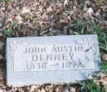 DENNEY, JOHN AUSTIN - Carroll County, Arkansas   JOHN AUSTIN DENNEY - Arkansas Gravestone Photos